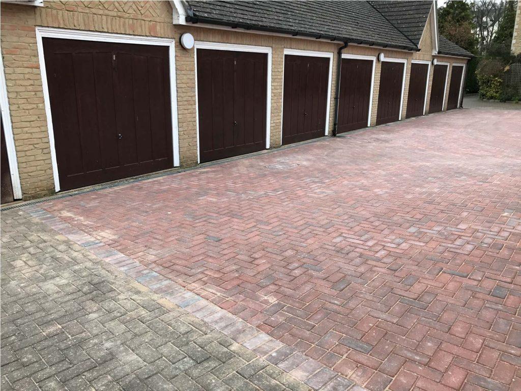 block paving